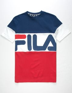 Fila Shirts - What is the typical design? Fila Shirts fila vialli mens t-shirt IDEQHAJ Swag Outfits For Girls, Trendy Outfits, Cool Outfits, Mens Rugby Shirts, Mens Tees, Casual Jeans, Casual Shirts, Tee Shirts, Fila Apparel