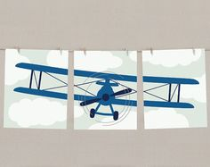 airplane nursery - Google Search  I could do this for you, the painting I mean