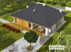 Eris II (wersja C) - projekt domu - Archipelag Design Case, 30th, Gazebo, Villa, Outdoor Structures, House Design, Interior Design, Outdoor Decor, Home Decor
