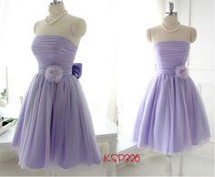 lavender short strapless bridesmaid dresses uk