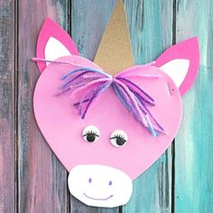 Valentine Unicorn - From classroom activities to handmade Valentines to play at home kids will love to make these 18 super cute DIY craft projects. Each of these Valentine crafts is easy enough for most ages to enjoy making. Valentine Activities, Valentine Crafts For Kids, Valentines For Kids, Classroom Activities, Valentine Ideas, Valentine Cards, Baby Crafts, Valentine's Day Crafts For Kids, Arts And Crafts Projects