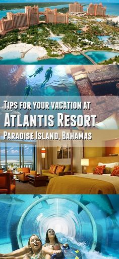 Plan your family vacation in the Caribbean at ATLANTIS! These Atlantis Resort in the Bahamas tips are great to know, this is the perfect tropical destination for family travel