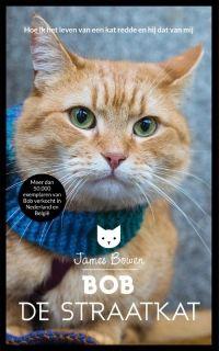 Bob de straatkat, Heerlijk boek over hoe per toeval een junk een straatkat ontmoet en ze vrienden voor het leven worden. Waar gebeurd, happy end en een kijkje in de keuken van een verslaafde