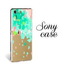 SPRAY СLEAR case for Sony z2, Sony z3 case, silicone Sony z5 case, xperia z3 compact, Sony M5 case, Sony C5 case, Sony M4 silicone case