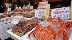 [Best Asian Food] Street food Janpan 2017 Seafood in Okinawa