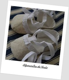 Baby sandals - alpercatas, via Flickr.