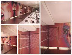 Toile imprimée murale au VIP Room