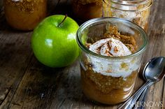 Mini Gluten Free Apple Crisps