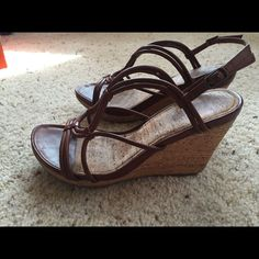 Kenneth Cole Reaction Tan Sandals