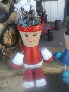Flower pot people.