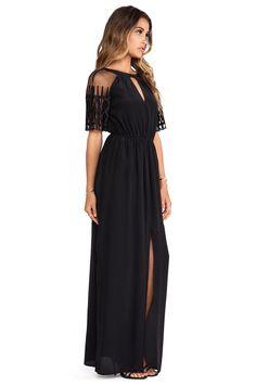 Alice by Temperley Everette Maxi Dress in Black | REVOLVE