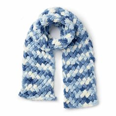 Yarnspirations is the spot to find countless free easy knit patterns, including the Bernat Alize EZ Criss-Cross Scarf. Browse our large free collection of patterns & get crafting today! Finger Knitting Blankets, Arm Knitting, Crochet Kids Scarf, Crochet Yarn, Crochet Ideas, Crochet Scarfs, Crochet Clothes, Finger Knitting Projects, Yarn Projects