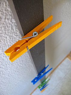 to hang art