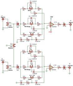 Electronics Basics, Electronics Components, Electronics Projects, Circuit Board Design, Diy Amplifier, Simple Circuit, Electronic Schematics, Hifi Stereo, Circuit Diagram