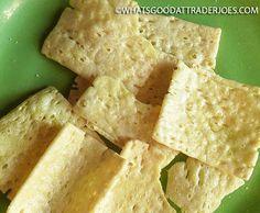 What's Good at Trader Joe's?: Trader Joe's Crisp Crunchy Crisps Whats Good, Chip Bags, First Bite, Trader Joe's, Earthy, Crisp, Gluten Free, Food, Glutenfree
