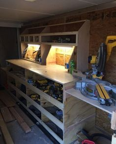 Tool Storage 768 x 1024 ( Tool Storage Cabinets, Garage Tool Storage, Workshop Storage, Garage Tools, Garage Workshop, Lumber Storage, Workshop Organization, Garage Art, Wood Storage
