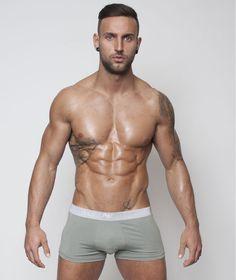 Emporio Armani Modal Khaki Stretch Trunk
