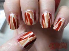 kandeej.com: Bacon Beauty- Bacon Perfume or Nails, anyone?