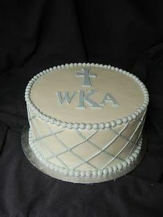 Baptism cake idea. A Sweet Life: February 2011