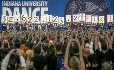 """Indiana University Dance Marathon raised a record-breaking $2.6 million """"for the kids"""" of Riley Hospital for Children over the weekend! More than 2,500 IU students danced for 36 hours straight as part of the annual fundraising event."""