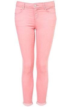 These jeans are so beautiful, are to the waist, have pockets, and are colour pink are tights, the costs is $330
