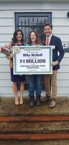 Publishers Clearing House Winners Lee Honey of Memphis