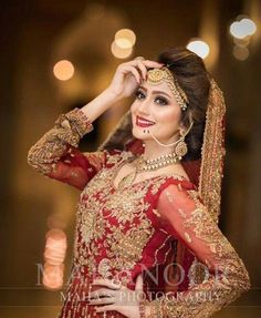 Most Beautiful Collection Of Pakistani Bridel Makeup Indian Bridal Photos, Indian Wedding Poses, Indian Wedding Couple Photography, Bride Photography, Pakistani Wedding Outfits, Pakistani Wedding Dresses, Bridal Photoshoot, Bridal Shoot, Bridal Portrait Poses