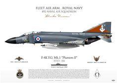 F-4K FG Mk1 HMS Ark Royal 1969 XT871