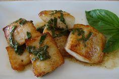 Vivek's Epicurean Adventures » FISH FRIDAY! Tilapia with Lemon-Basil Sauce