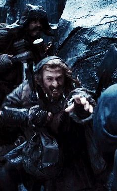 When Fili is separated from Kili, when they think they'll never see each other again, when they try so desperately to get to each other, but it's too late, the fear in their faces - oohh right in the feels, it's so sad but beautiful at the same time.