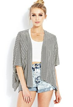 Zigzag Kimono | FOREVER 21 I Would Totally Rock This Outfit <3