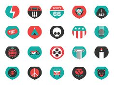 Grateful Dead Icons by Edgar Vargas