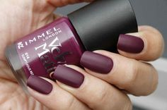 Rimmel London Velvet Matte 014 Sumptuous Red collection fall 2014