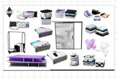 Lana CC Finds - slox: Happy easter everyone! My first bedroom is...