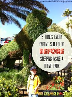 5 Things Every Parent Should Do BEFORE Stepping Inside a Theme Park