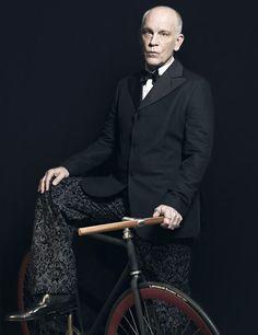 John Malkovich... I am not a huge fan... BUT, he is an amazing actor... and he's got a bike...