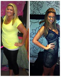 Tone it up: Stacie sent us her before and after to stay motivated.. Feel free to send yours in too! <3 https://twitter.com/stacejaym http://toneitupdiet.com
