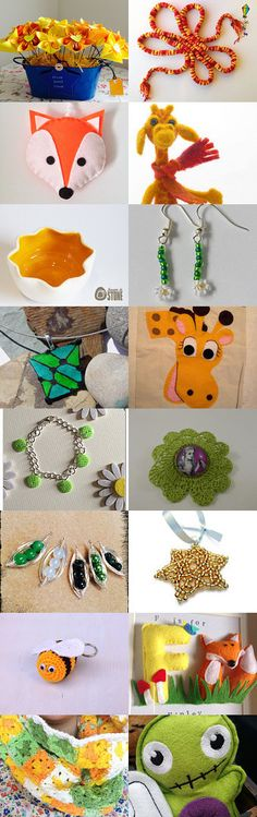Citrus Treasurytuesday by Heather Barber on Etsy--Pinned with TreasuryPin.com