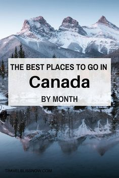 Wondering when is the best time to visit Canada See this ultimate guide for the best places to go in Canada each month plus where to stay. Cool Places To Visit, Places To Travel, Travel Destinations, Visitar Canada, Canada Summer, Canada Canada, Canada Trip, Travel To Canada, Toronto Canada