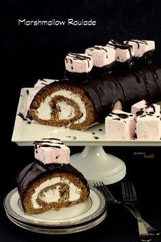Marshmallow Roulade