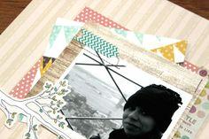 #scrapbook #scrap #layout #winter