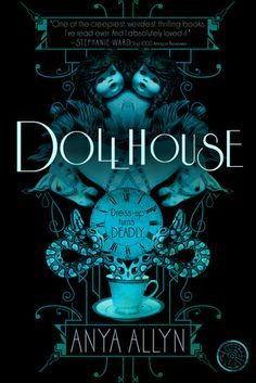A horror-mystery-romance (with a love triangle, of course), where the main character, Cassie, stumbles up on an underground cavern called the Dollhouse, where young girls are being forced to dress up as life-size dolls.  This book certainly isn't for the faint of heart (it sounds like something I'd recommend only to older teens), but for teen readers who really enjoy a creepy story, this seems like a really good book, and got good reviews on Goodreads (4 stars out of 5). -- Ilana