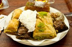 What to eat in Istanbul - baklava and kofte and borek oh my!