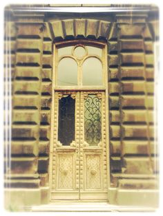 Old doors in Gyumri, Armenia