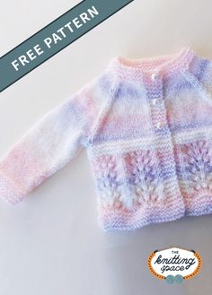 Waves Knitted Baby Cardigan [FREE Knitting Pattern] Create this lovely knitted cardigan for your little one. This piece also makes for a thoughtful handmade baby. Baby Knitting Patterns Free Newborn, Baby Cardigan Knitting Pattern Free, Baby Sweater Patterns, Knitted Baby Cardigan, Knit Baby Dress, Knit Baby Sweaters, Knit Patterns, Free Baby Sweater Knitting Patterns, Knit Cowl