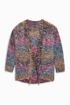 Buy Multi Fringed Cardigan (3-16yrs) online today at Next: United States of America