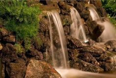 Waterfall created by French's Waterscapes LLC in Walnut Creek, CA. #WaterfallWednesday