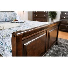 Furniture Of America,Litchville California King Bed Collection CM7383CK