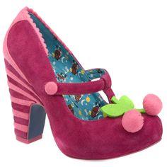 Irregular Choice cherry shoes