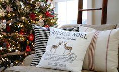 Una casa rústica en Navidad | Decoración